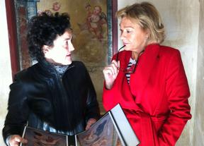 Ana Isabel Mariño ha visitado las obras de restauración.