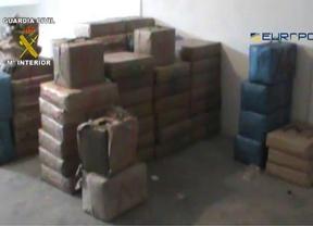Desarticulada una red de narcotráfico internacional