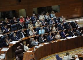 Bancada 'popular' de la Asamblea de Madrid