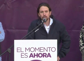 """Pablo Iglesias: """"Este año vamos a ganar las elecciones al PP"""""""