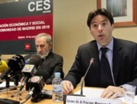 Madrid pasa por 'dificultades' pero aguanta la crisis 'mejor' que España, según el CES