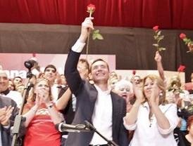 Gómez gana las primarias socialistas