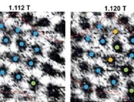 Observan el movimiento de vórtices superconductores