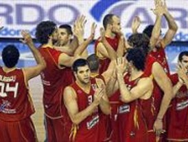 Recital de España en el inicio del Eurobasket