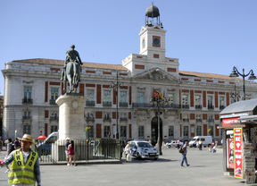 Real Casa de Correos en Puerta del Sol