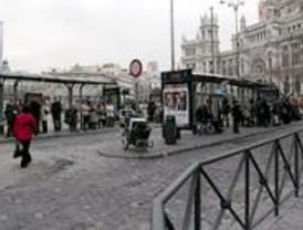 Continúa la huelga de autobuses en su segunda jornada
