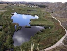 Ruta por la laguna de San Juan