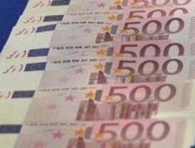 Desaparecen del mercado 2,5 millones de billetes de 500 euros
