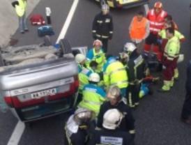 Herido grave un conductor al sufrir un ataque epiléptico