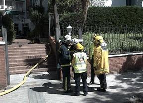 Desalojan una residencia de estudiantes de Madrid al incendiarse habitación