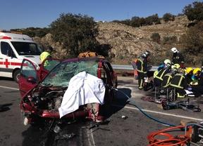 Dos mujeres heridas y un bebé ileso en una colisión frontal en la M-607