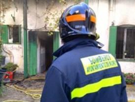 Fallece un anciano en el incendio de su casa en Puerta de Hierro
