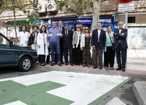 Getafe pone al servicio de los usuarios de farmacias 5 plazas de aparcamiento