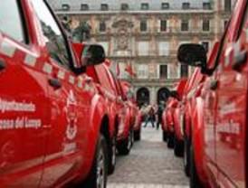 Coches de bomberos para treinta municipios pequeños