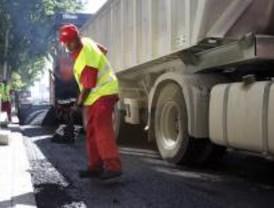 Los trabajos de asfaltado llegan a los distritos de Salamanca, Chamberí y Centro