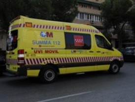 Dos heridos en una colisión entre Ronda de Atocha y la avenida Ciudad de Barcelona