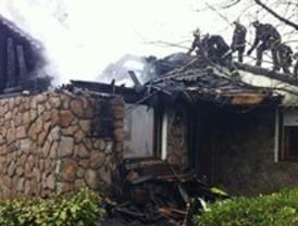 Arde una vivienda en Manzanares el Real