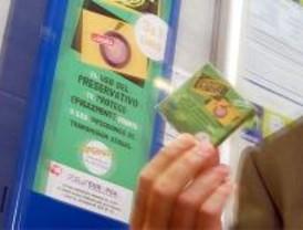 Más de 12.000 condones vendidos en el metro