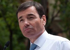 Tomas Gómez interviene en el dia de la rosa del Partido socialista de Madrid