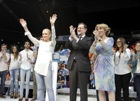 Los ataques a PSOE, Ciudadanos y Podemos cierran la campaña del PP
