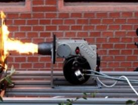 Tecnología infrarroja que mide el efecto del fuego en los materiales
