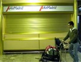 Air Madrid anuncia que suspende actividades a partir de las ocho de la tarde