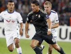 2-5. Cristiano se exhibe en un Real Madrid con dos caras