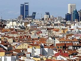 Madrid desde los tejados de Gran Vía