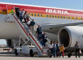 Iberia, la compañía aérea más puntual de diciembre