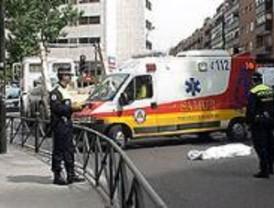 Una mujer muere aplastada por un camión