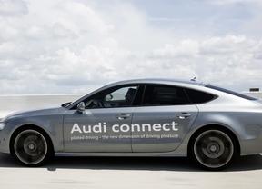 Audi realiza una prueba real de conducción pilotada