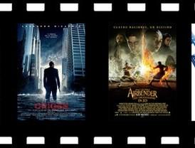 Airbender reta a Leonardo Di Caprio en los cines