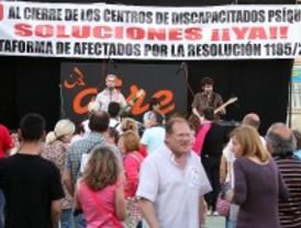 Los afectados por el cierre del Magerit celebran San Isidro para recordar que no son