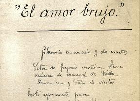 'El amor brujo' cumple 100 años