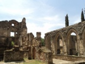 La restauración del monasterio de Pelayos se retrasa a 2013