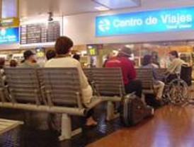 Gran afluencia de viajeros en Chamartín y Estación Sur de Autobuses