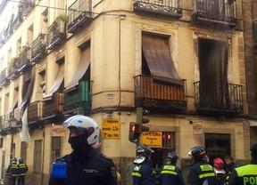 Herida leve una mujer de 83 años tras el incendio de su vivienda