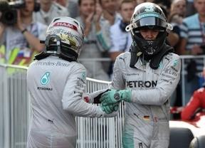 Rosberg mete presión en el último G.P. de la temporada