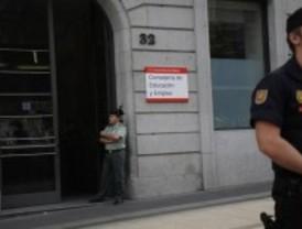 En libertad la mujer detenida en la protesta por los recortes