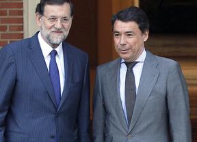 Visita de Ignacio gonzalez a Mariano Rajoy en Moncloa