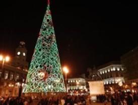 Retiran 22 toneladas de residuos de la Puerta del Sol