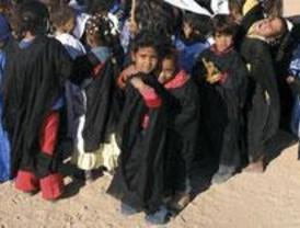 La UEM acoge 'Escuelas en el Sahara', una muestra sobre los niños ciegos saharauis