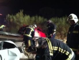 Tres heridos al cochar contra un turismo y una furgoneta