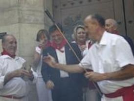 'Txistorra' y vino en los Sanfermines madrileños