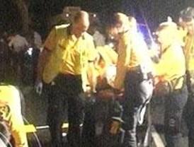 Heridas dos hermanas al ser arrolladas por una moto frente al Museo del Prado