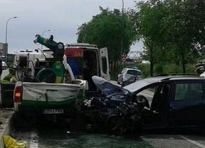 Un accidente entre un todoterreno de Medio Ambiente y un coche deja un herido grave