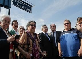 Carlos Llamas ya cuenta con una glorieta frente al futuro estadio del Atlético