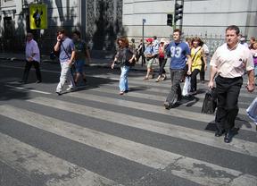 Precaución: en la Comunidad mueren 40 peatones atropellados al año