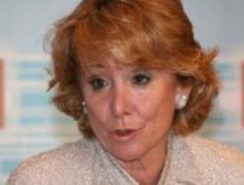 Aguirre califica de 'discriminación intolerable' la reunión de Zapatero y Montilla