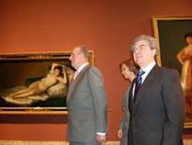 Los Reyes inauguran la exposición de Goya en el Prado